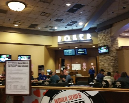 Harrahs Poker Room