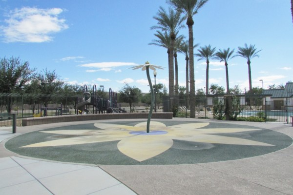 Cobblestone Farms Maricopa splash pad