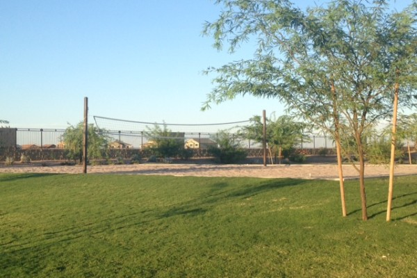 Homestead Volleyball Court