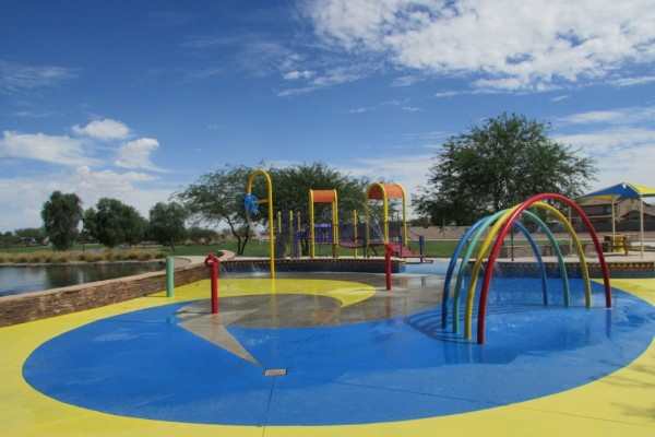 Sorrento Splash Pad 3