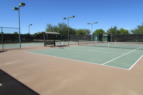 Villages Tennis Court